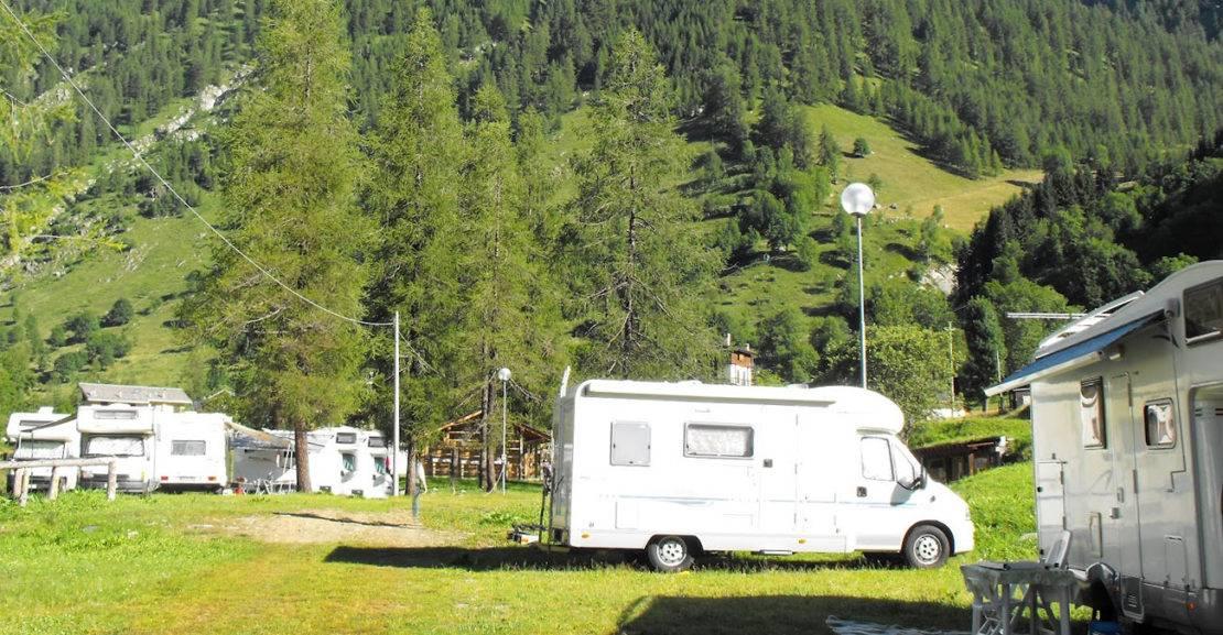 camper montagne