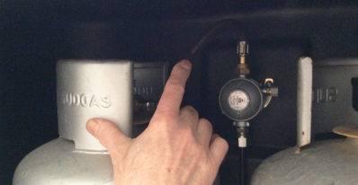 serbatoio fisso del gas